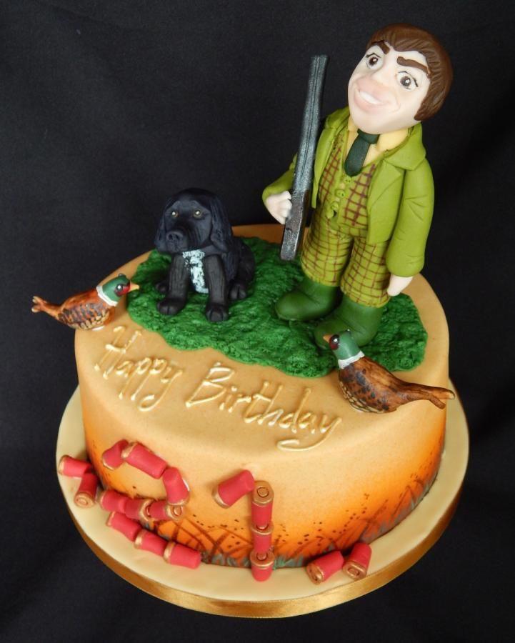 Gamekeeper Cake Topper
