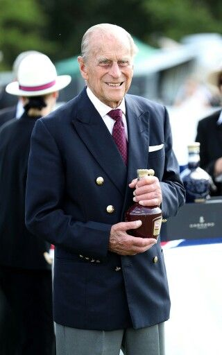 Prince Philip at the Guards Polo Club. July 23 2016