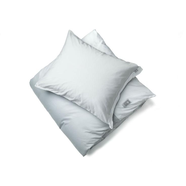 Fold påslakan, fog (ljusgrå/vit) i gruppen Textil / Sängkläder & Överkast hos RUM21 AB (104147)