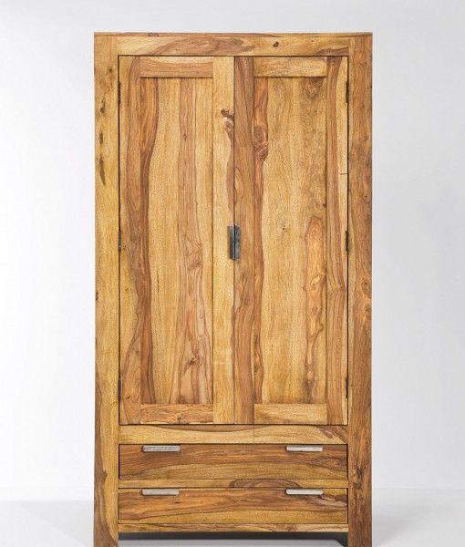 Authentico Wardrobe 2 Doors 2 Drawers