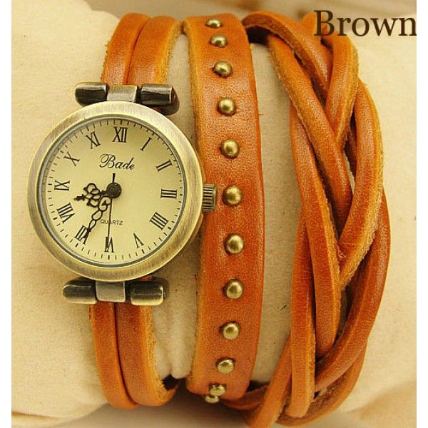 Cool! The twist braid winding Rome Leather Wrap Watch-brown just $29.9 from ByGoods.com! I can't wait to get it!
