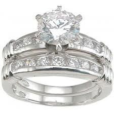 find this pin and more on kay jewelers brilliant with channel set silver cz wedding ring set