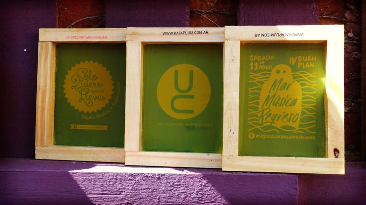 Kit Serigrafia a pedido  Bs As Argentina www.kataplum.com.ar