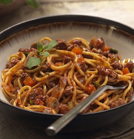 Rezept für schnelle Spaghetti Bolognese