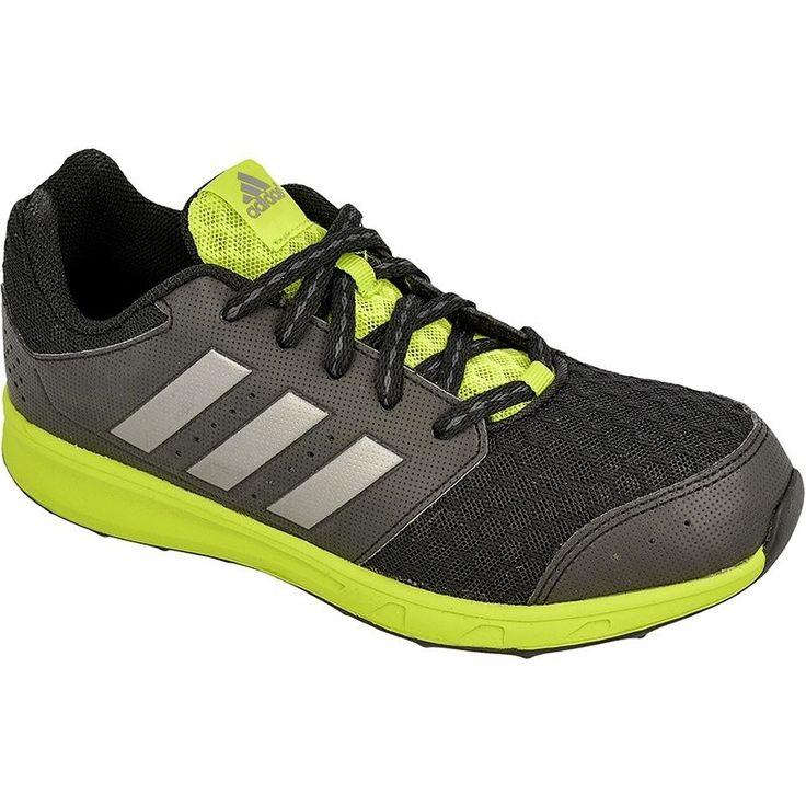 Buty biegowe adidas LK Sport 2 Jr  Właściwości:      juniorskie buty do biegania     idealne na treningi, zajęcia w-f lub codzienne aktywności     przewiewna cholewka zapewnia wentylację     wzmocniona trwałym syntetykiem gwarantuje butom trwałość     klasyczne sznurowanie     giętka, wytrzymała i przyczepna gumowa podeszwa     antybakteryjna, usuwająca wilgoć wkładka OrthoLite®     wyjmowana wkładka ADIFIT® z nadrukiem pozwala upewnić się, że but pasuje rozmiarem do stopy.