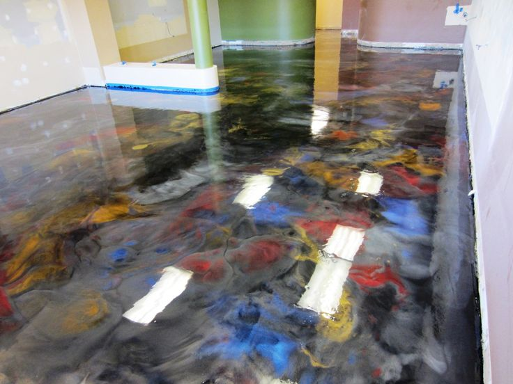 17 best images about metallic epoxy floors on pinterest for Decorative concrete floors residential