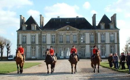 The Versailles of Horses!  Thursday shows  Haras du Pin