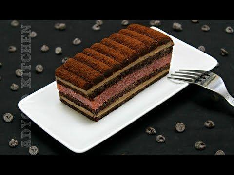 Prajitura cu ciocolata si jeleu de capsuni | Adygio Kitchen - YouTube