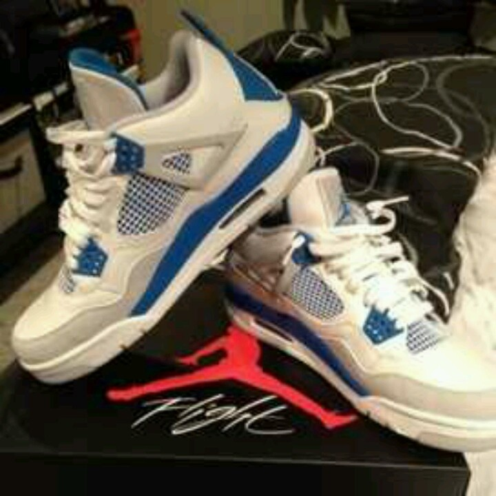 watch cd968 dc864 Marcus Brutuss Military Blue IV on SneakerWare nike shoes outlet Air Jordan  ...
