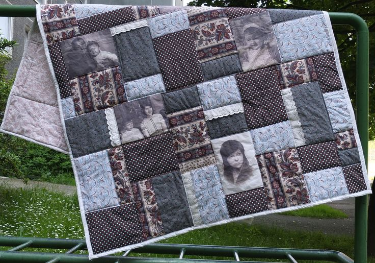 Photoquilt made in vintage style :-)