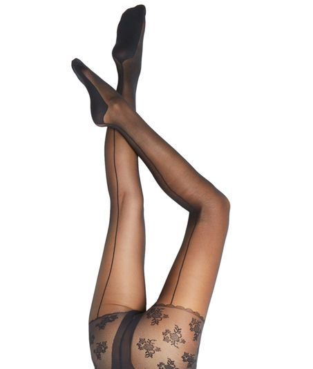 Collants sculptants ventre plat 15D, couture dos - LE VENTRE PLAT COUTURE - NOIR - Etam