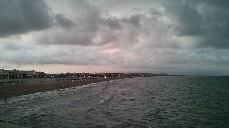 Praia da Malvarrosa. Valencia