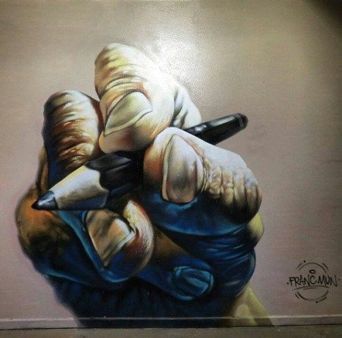 barbarapicci: (via Streetart News [wall 355] - Franc Mun in Messico)