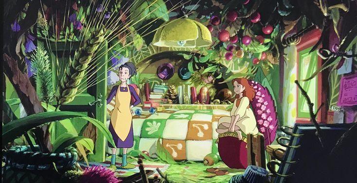 Arrietty Le Petit Monde Des Chapardeurs Arrietty Et Homily Arrietty Petit Monde In 2020 Secret World Of Arrietty The Secret World Ghibli Movies