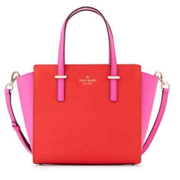 Only today!!! Kate Spade New York Purse Brand New Beautiful Amazing Stand-Out Purse. Still has tags, includes a strap hot carry over the shoulder, and a beautiful Kate Spade Quote dust bag. Payed Retail $325 kate spade Bags