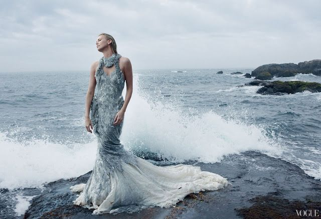 Charlize Theron by Annie Leibovitz