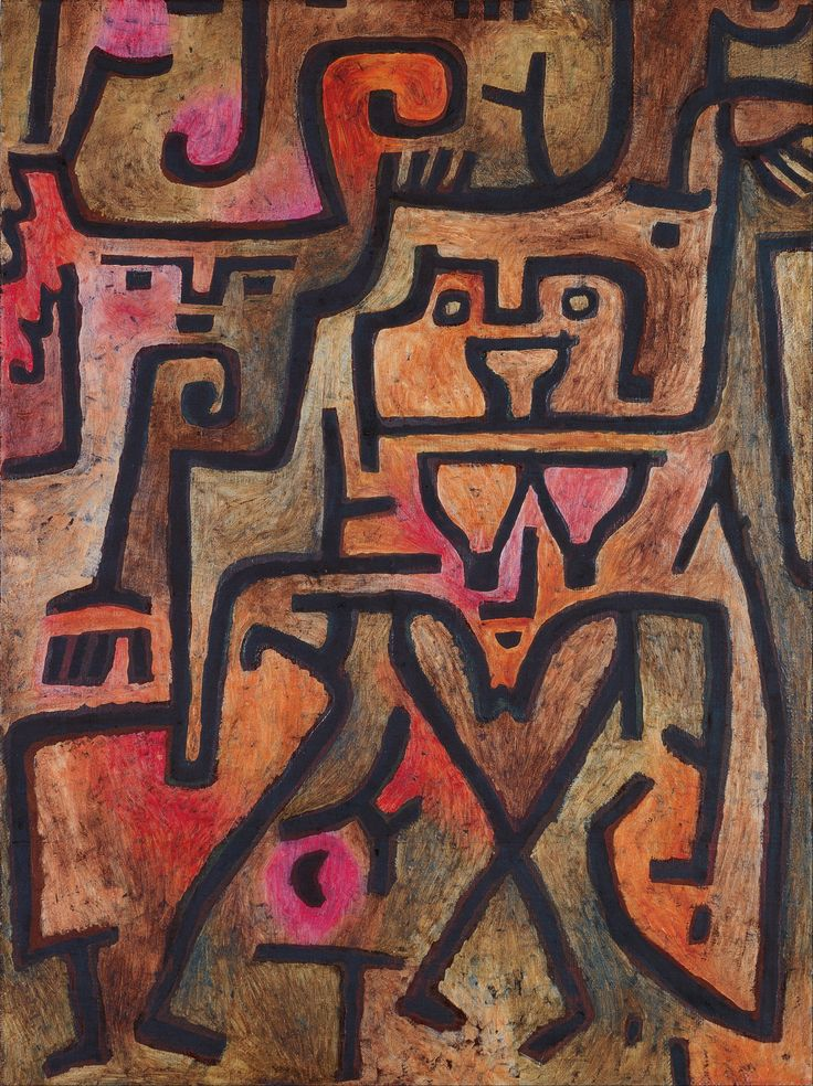 Paul Klee - Forest Witches                                                                                                                                                                                 Plus