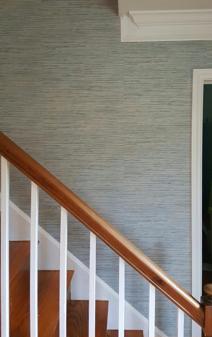 Painting over grasscloth wallpaper - Norwall Textures 4 Faux Grasscloth Wallpaper Blue Amazon Com