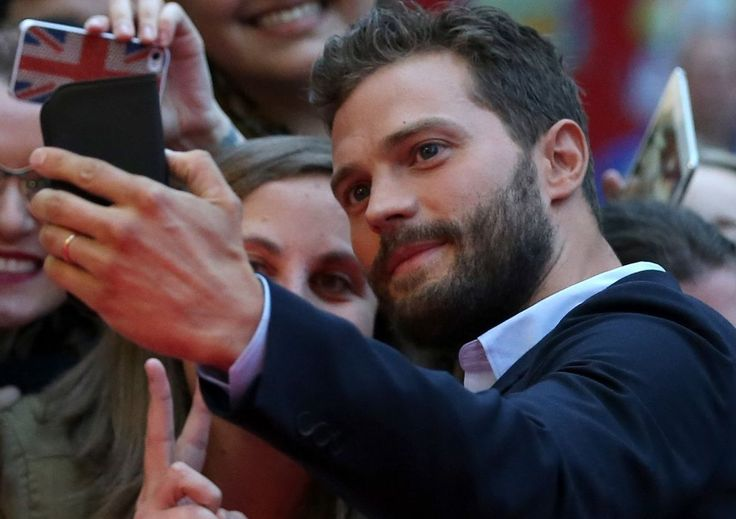 how could you not love that face?? Jamie Dornan is adorable