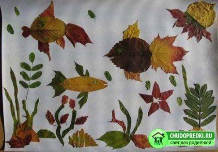 Незвичайно красиві вироби з осіннього листя