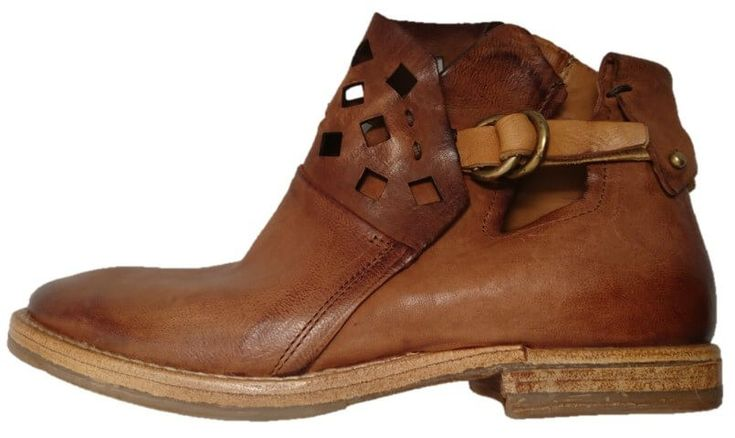 Womens brown leather ankle boots, by AS98 by Airstep A.S.98. Buy it 219,00 €