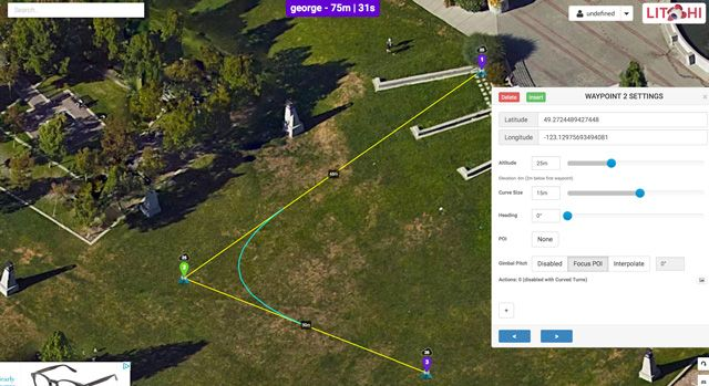 Next Level Automated Flying and Filming for Phantom 3