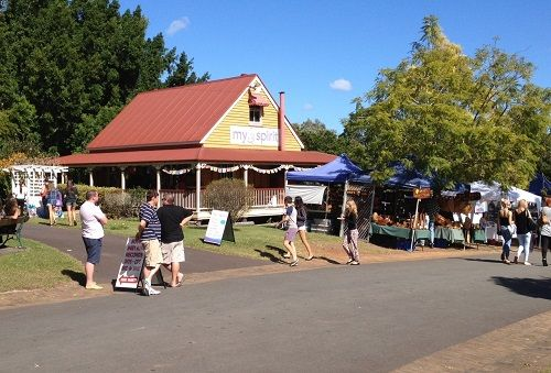 Market day at My spirit at Old Petrie Town.