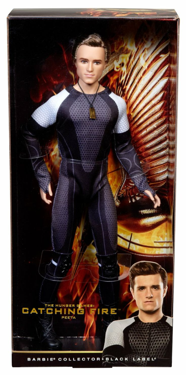 Amazon.com: Barbie Collector The Hunger Games: Catching Fire Peeta Mellark Doll