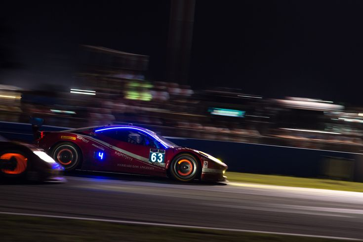 Ferrari 458 GTLM at the 2015 12 Hours of Sebring. Photo credit Jamey Price [3000x2000] - see http://www.classybro.com/ for more!