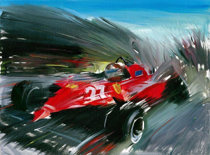 Gilles Villeneuve, Formula 1, F1 #SMDriver
