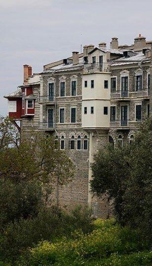 Vatopedi Monastery (Agion Oros), Mount Athos, Greece