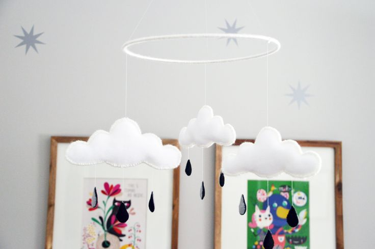 How to Make a Cloud Nursery Mobile — Apartment Therapy Tutorials