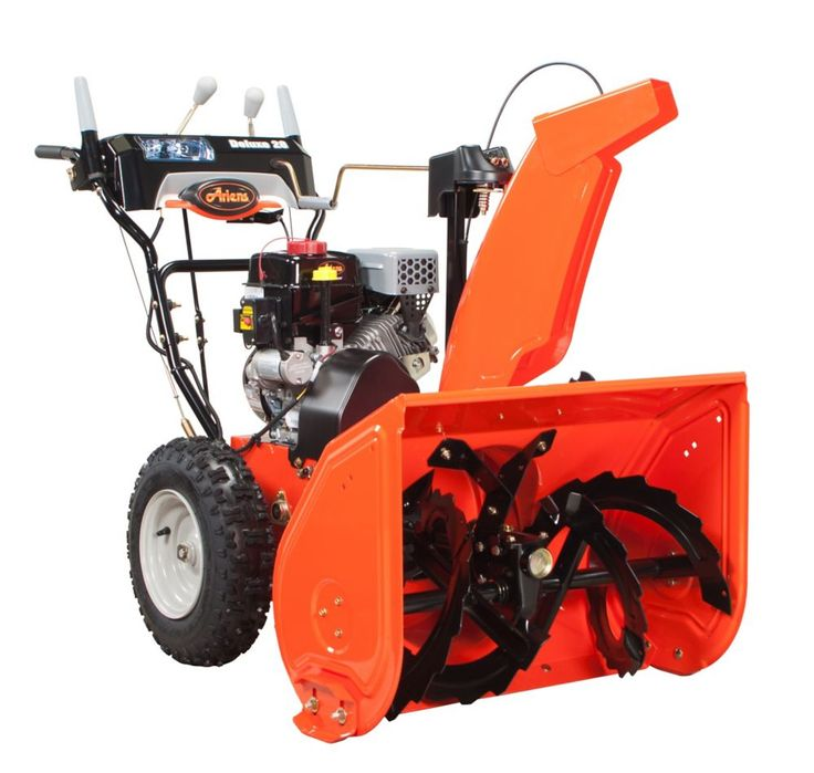 Deluxe 28inch 2stage 120v electric start 254cc ariens