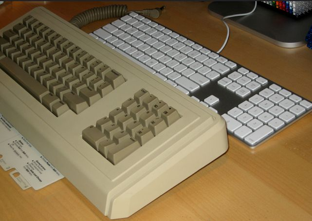 apple lisa keyboard