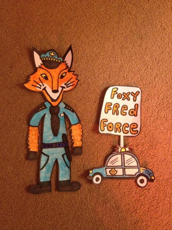Foxy Fred Force #foxyforce
