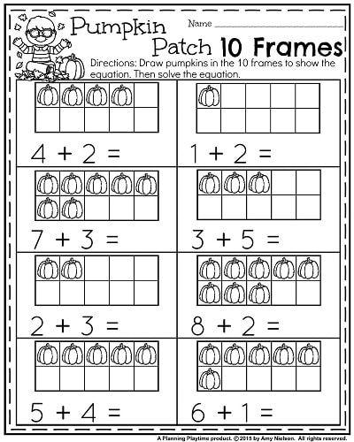156 Best Kindergarten Worksheets Images On Pinterest