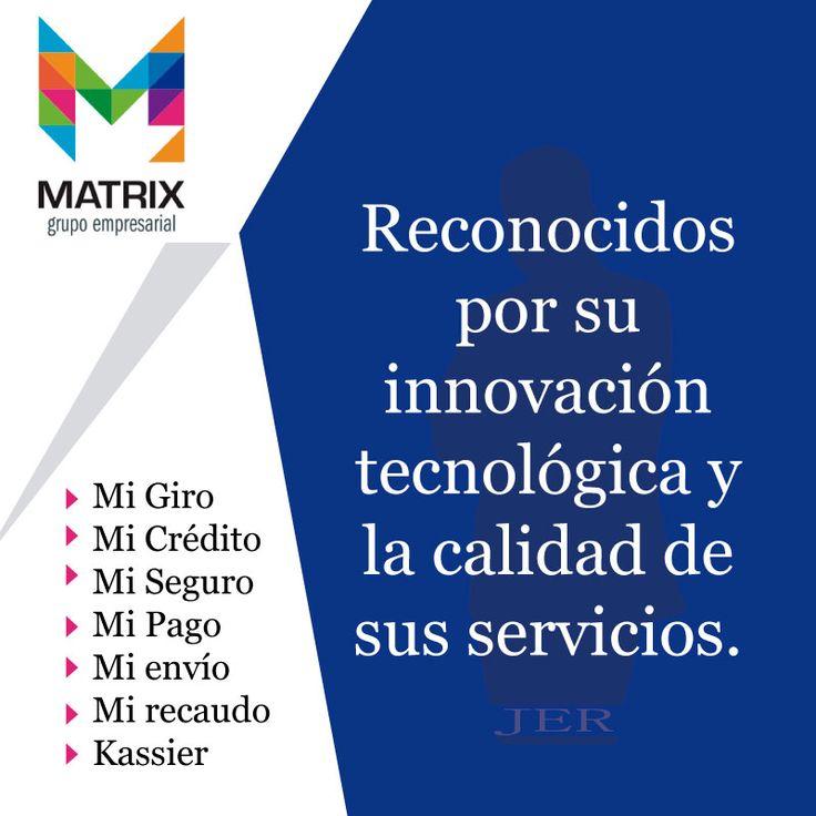 Toda una red transaccional a tu disposición en #matrix, servicio ágil, oportuno e innovador. #seguridad #responsabilidad http://www.grupomatrix.co/