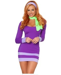 When I watched Scooby-Doo as a kid, I always wanted to be Daphne! Would only wear this if a group of friends agreed to go as the rest of the characters, though!