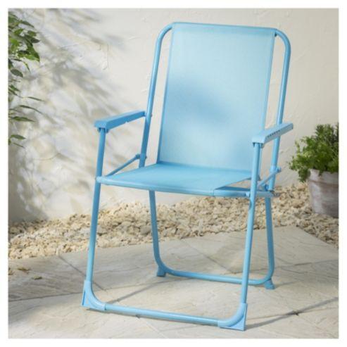 Folding Picnic Chair, Aqua