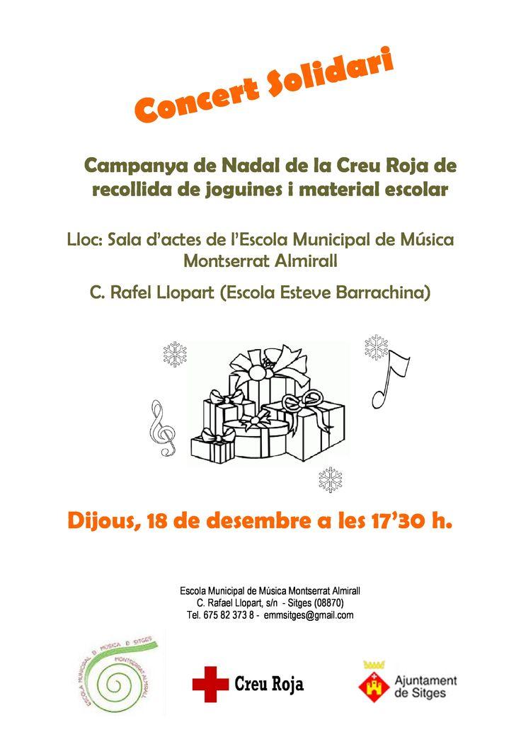 Concert solidari (18.12.2014)