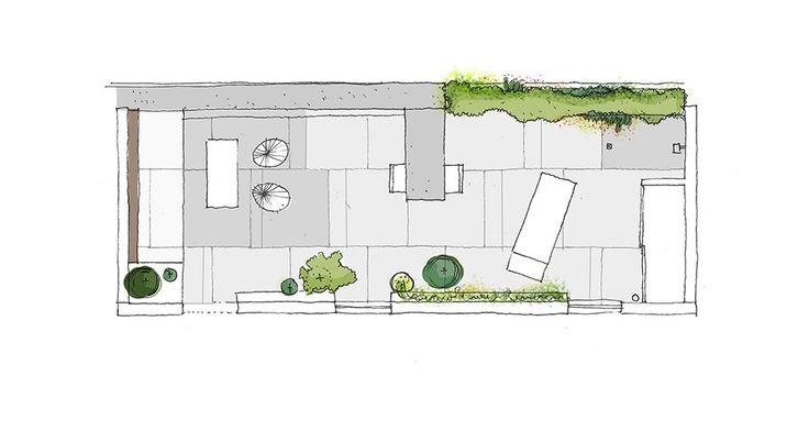 131 mejores im genes de dibujos croquis y planos de for Planos de jardines