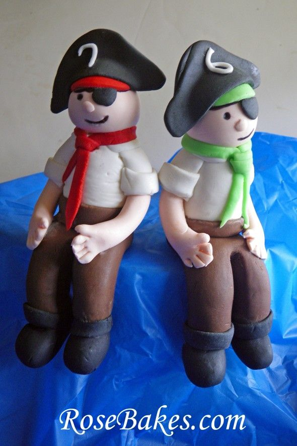 Pirate Cake Topper.  $20 each plus shipping & handling.