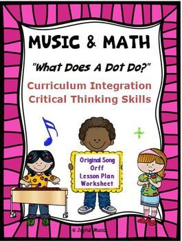 *** $3.00 *** This product challenges students to use their critical thinking skills to determine the values of notes as it relates to different time signatures. They must be knowledgeable of fractions. The purpose of the dot in music is discussed and applied.