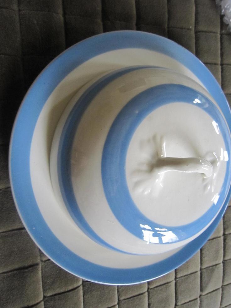 Cornishware blue stripes. See more. Very Rare Muffin Dish u0026 Lid & 14 best Cornish Blue crockery images on Pinterest | Cornishware ...