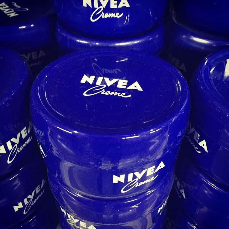 Nivea - A very popular skin and body care brand from #Germany. Owned by Beiersdorf Global AG. #skincare #cosmetics. Nivea come from Latin word niveus meaning Snow White