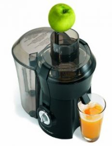 Hamilton Beach Juicer - I Love this, juice is soooo fresh, no mess, super easy to clean  Try Apple,pear & lime or Cucumber,carrot & celery juice...so good for you and delicious!