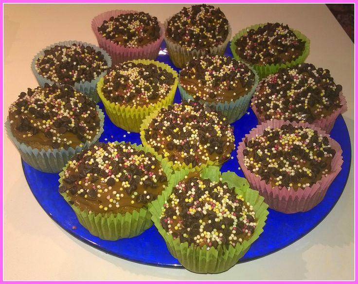 No gluten! Yes vegan!: Cupcakes vegan and gluten free alla banana con gla...