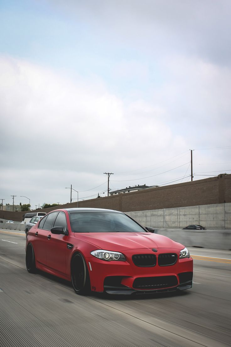 Not a old school bmw but this red is a beautiful beast
