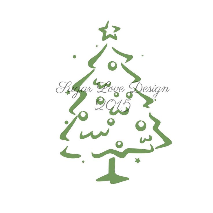 27 best Christmas Cookie Stencil Designs by Sugar Love Design ...