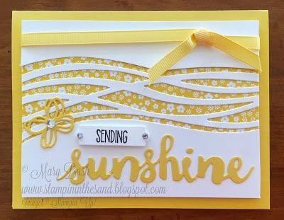 Stampin' in the Sand: Card: Sending Sunshine